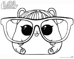 Boy Lol Doll Coloring Pages