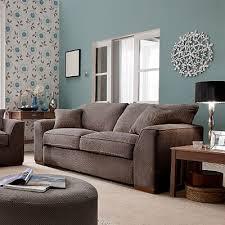 duck egg wall colour brown sofa