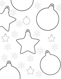 Our christmas coloring pages are organized in easy to navigate categories: Christmas Ornaments Coloring Page Mama Likes This