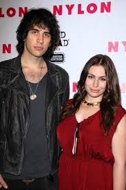 nick simmons and sophie simmons. nick simmons, sophie simmons and s