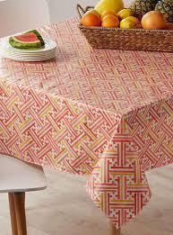 round vinyl tablecloth beautiful citrus maze vinyl tablecloth