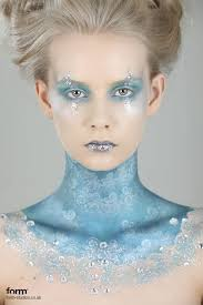 ice queen like the pale blue eyes and the highlight on the cheek bones