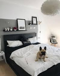 49 Cool Schlafzimmer Einrichten Graues Bett Petites Idées De
