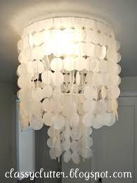 capiz shell lighting fixtures. Diy Wax Paper Capiz Shell Chandelier Luxury 130 Best ♥ Lamps Chandeliers Lanterns Lighting Fixtures W