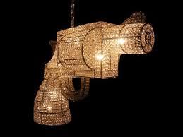 unusual lighting fixtures. amazing chandelier designs gun chandeliers u201crock and royalu201d is a company based unusual lighting fixtures u