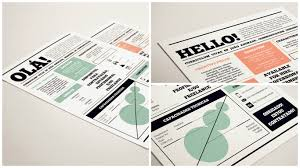 Graphic Designer Resume Inspiration 70 Well Designed Resume Examples For Your Inspiration