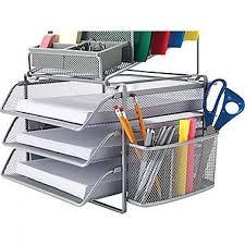 wire mesh desk organizer staples all in one silver wire mesh desk organizer 27642