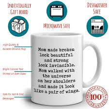 Perfect Gift for Mom from Daughter Coffee Mug, Unique Presents for ...