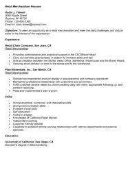 Resume Sample For Merchandiser Visual Merchandising Resume Sample 3