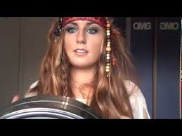 pirates of the caribbean 4 makeup hair and costume