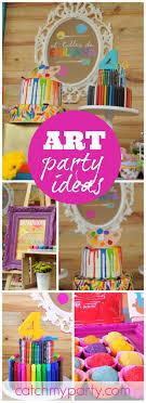 art party birthday emiliana s colorful work