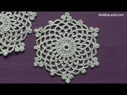 Crochet Snowflake Pattern Unique How To Crochet Snowflake Pattern Ornament EASY Tutorial YouTube