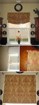 Diy No Sew Curtains The Most 22 Cool No Sew Window Curtain Ideas