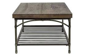 wood veneer and metal side table pine base coffee with oak plank top kitchen inspiring