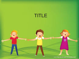 Children Powerpoint Background And Ppt Template For Early
