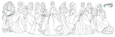 Disney Princess Pictures To Color And Print Princess Coloring Pages