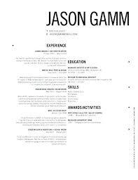 Resume Models Resume Design Inspiration Resume Models