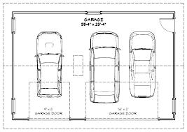 typical 2 car garage size 2 car garage door width garage sizes 2 car two car