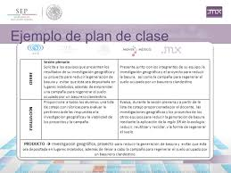 planeamiento de clases plan de clase ppt descargar