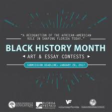 black history month contests announced volunteer florida bhm art and essay contest 2