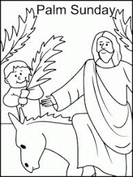 Small Picture Incredible Design Palm Sunday Coloring Pages 2 Modern Decoration