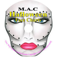 250 mac makeup face charts costume theatrical seasonal pictures on cd 1 of 1
