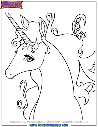 Small Picture Free Printable Unicorn Coloring Pages H M Coloring Pages