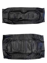 jb carts black front seat covers