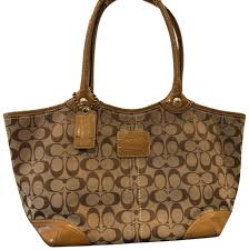 Coach Tote in Khaki   Light Brown ...