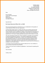 Cover Letter Sample Human Resources Internship Refrence Human ...