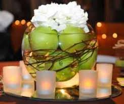 Rosh Hashanah centerpiece. Seems easy to put together!