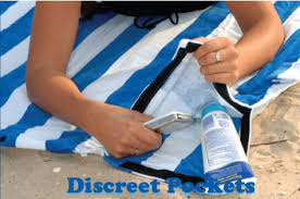 beach towels on sand. The Towel Down Is Not Just A Beach Towel. It\u0027s Blanket. Tote Bag. Backpack. Full Of Pockets Towels On Sand