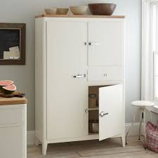 free standing kitchen pantry. Kitchen Room With White Stained Wooden Storage Cabinet Shelf And Drawer Added Metal Stool Placed Free Standing Pantry H