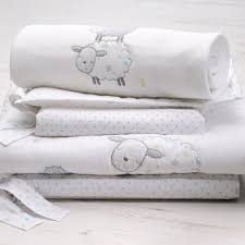 silver cloud 3pc bedding bale counting sheep