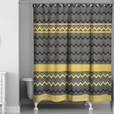 brown and black shower curtain. chevron stripes shower curtain in black/gold brown and black l