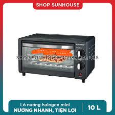 Lò nướng halogen mini SUNHOUSE SHD4206 / SHD4210 dung tích 10L