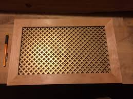 decorative air vent covers custom