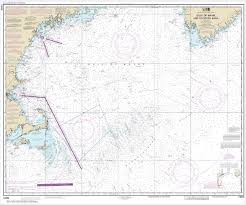 Gulf Of Maine Chart Noaa Chart Gulf Of Maine And Georges Bank 13009