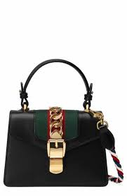 gucci bags at nordstrom. gucci mini sylvie top handle leather shoulder bag bags at nordstrom r