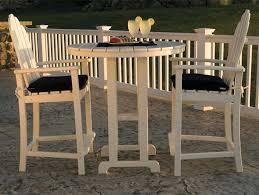 cool bar furniture. 10 classic adirondack hi top patio set from polywood 10th best bar sets stone cool furniture