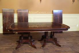 Large Dining Tables To Seat 10 Large And Wide Mahogany Dining Table Seats 14 16 People Ebay
