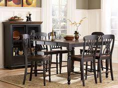 homelegance ohana counter height dining set black 800 00