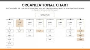 Organizational Chart Free Powerpoint Template