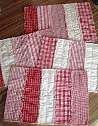 shabby chic rag rug luxury red quilted placemats set 4 country placemats fall hd wallpaper