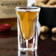 tall whiskey shot glass