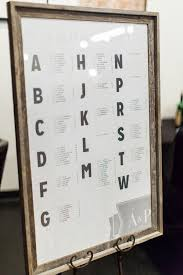 Seating Chart Signs Wedding Signage Seating Chart