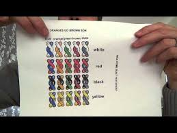 Telco Color Code Chart How To Work Out Telephone Cable Colour Codes Youtube
