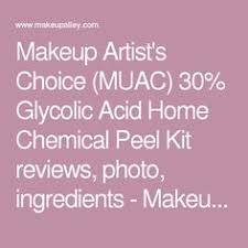 makeup artist 39 s choice muac 30 glycolic acid home chemical l kit reviews photo ings