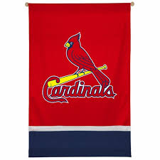 st louis cardinals mlb sidelines wall hanging