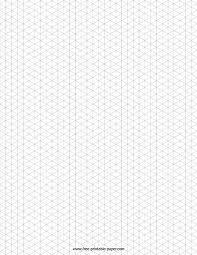 Free Graph Paper Print Isometric Graph Paper Free Printable Paper